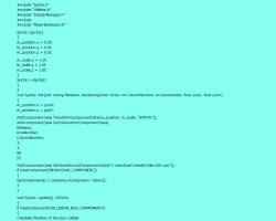 Engine Code Example